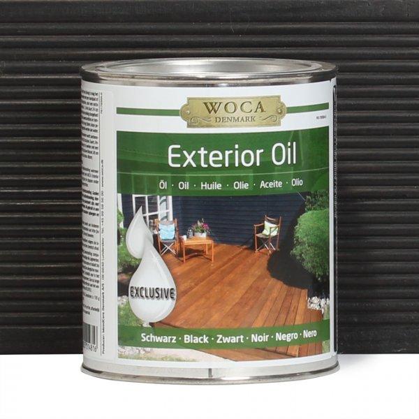 Exterior Oil schwarz 0,75 Liter