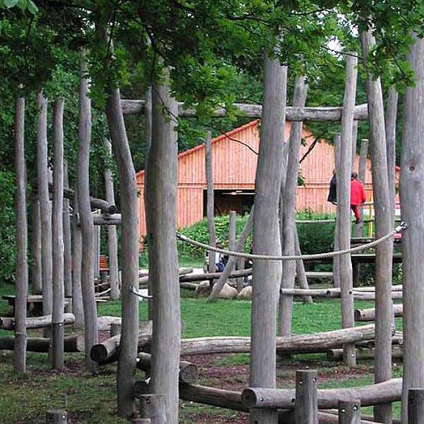 Knüppelholz aus Kastanienholz