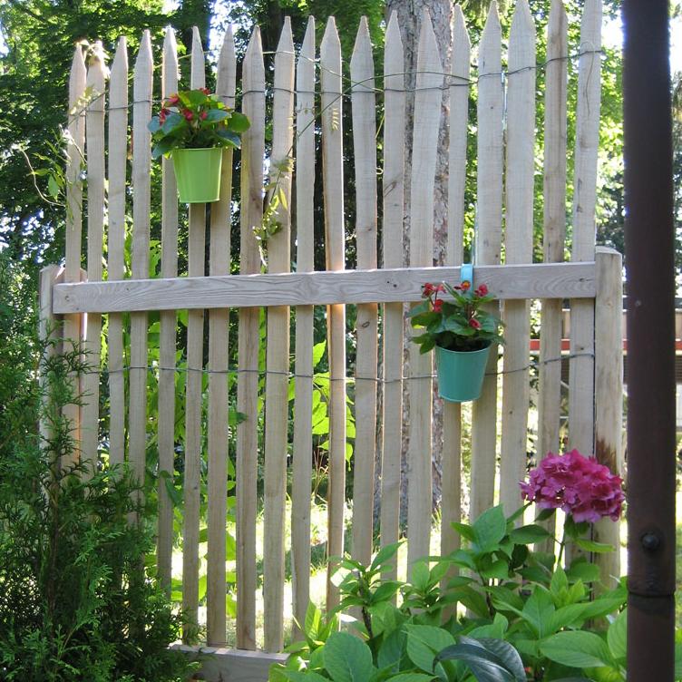 sichtschutz von der rolle von woodline zaun shop. Black Bedroom Furniture Sets. Home Design Ideas